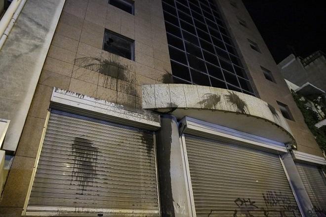 Βίντεο από τη στιγμή της επίθεσης του Ρουβίκωνα στο υπουργείο Υποδομών