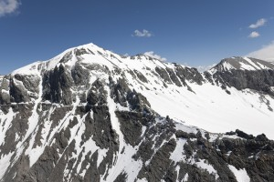 epa06928457 (FILE) A view on the Piz Segnas and the Atlas (R-back) in Flims, Switzerland, 30 May 2009 (issued 05 August 2018). According to reports, a JU-Air airline Junkers Ju-52 aircraft has crashed on the west side of the Piz Segnas mountain on 04 August. Number of casaulties is yet unknown and rescue mission is underway.  EPA/ARNO BALZARINI