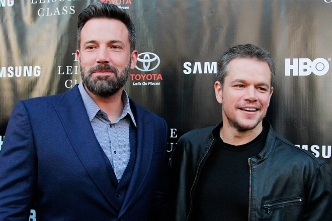 Mandatory Credit: Photo by Matt Baron/BEI/BEI/Shutterstock (4937720bt) Ben Affleck and Matt Damon 'Project Greenlight' Season 4 TV series premiere, Los Angeles, America - 10 Aug 2015