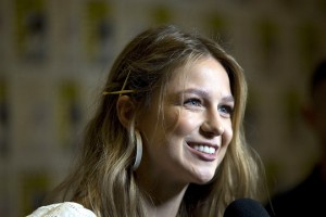 epa06903719 US actress Melissa Benoist attends a press event for the television series Supergirl on the third day of Comic Con International in San Diego, California, USA, 21 July 2018. The San Diego 2018 Comic-Con International event runs from 19 to 22 July 2018.  EPA/DAVID MAUNG