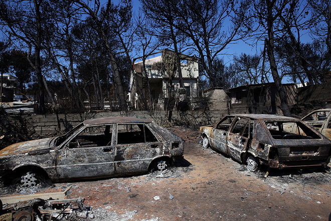 Επιχορήγηση 4,5 εκατ. ευρώ για τους πυρόπληκτους των δήμων Μαραθώνα και Ραφήνας-Πικερμίου