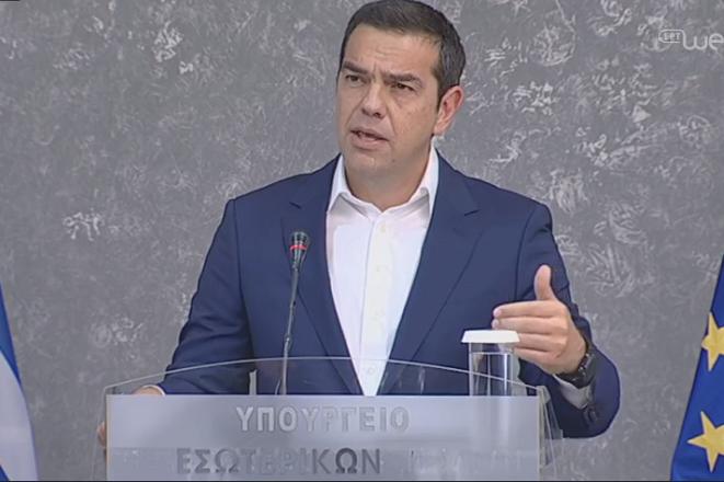 Τσίπρας: Έχουμε την ευθύνη να διασφαλίζουμε τη ζωή και την περιουσία του κάθε πολίτη