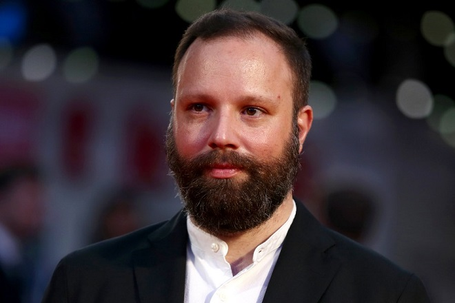 epa06261827 Greek director Yorgos Lanthimos arrives for the premiere of 'The Killing of a Sacred Deer' at the 61st BFI London Film Festival, in London, Britain, 12 October 2017. The festival runs from 04 to 15 October.  EPA/NEIL HALL