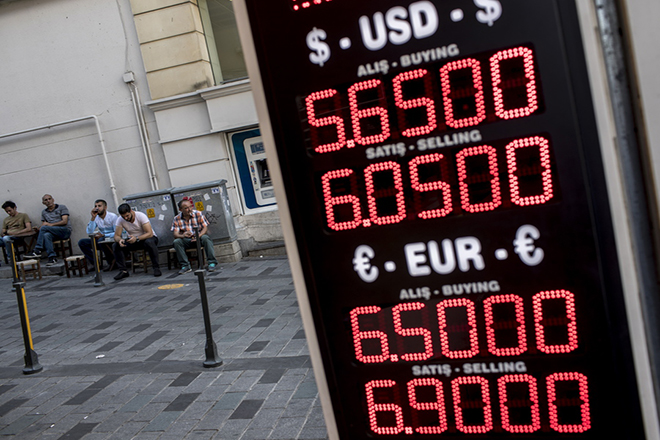 Έτοιμη να κόψει χρήμα η κεντρική τράπεζα της Τουρκίας για να σώσει τις τράπεζες
