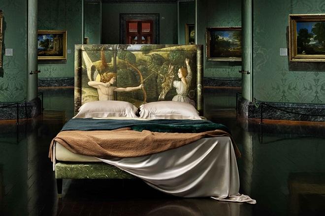Ένα αριστούργημα της ζωγραφικής στο κρεβάτι σας