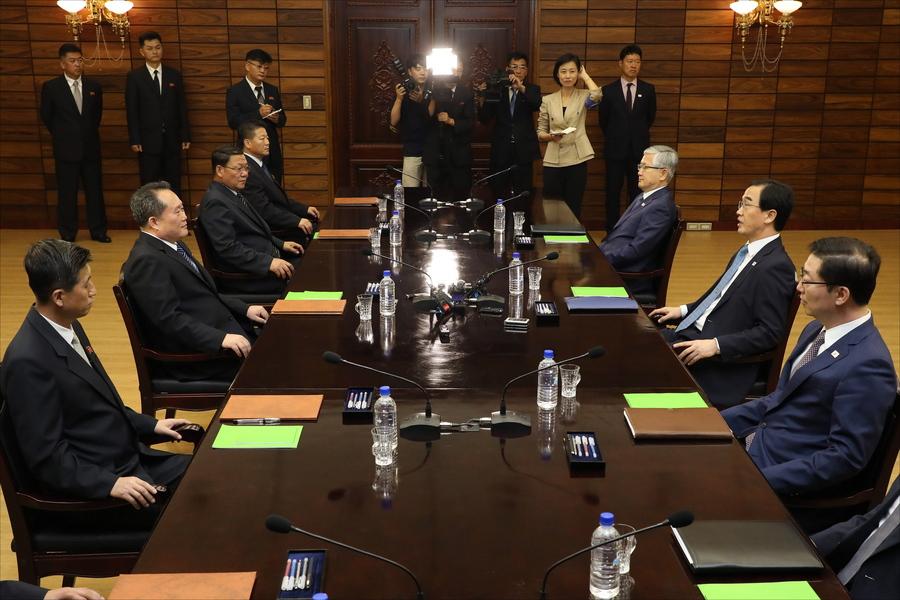 Ένα ακόμη βήμα πιο κοντά έκαναν η Βόρεια με τη Νότια Κορέα