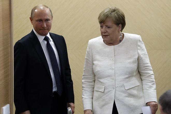 Τηλεφωνική επικοινωνία μεταξύ Μέρκελ και Πούτιν- Τι συζητήθηκε για τον Nord Stream 2 και την ανταλλαγή κρατουμένων στην Ουκρανία