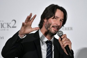 epa06026049 Canadian actor/cast member Keanu Reeves attends the Japan premiere event of 'John Wick: Chapter 2' in Tokyo, Japan, 13 June 2017. The movie will be screened across Japan from 07 July on.  EPA/FRANCK ROBICHON