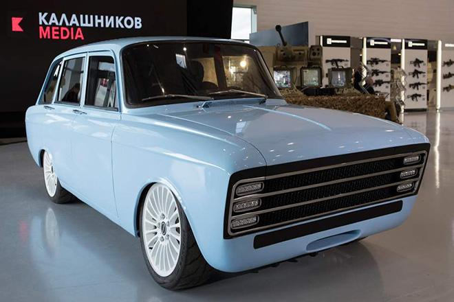 Το φιλόδοξο σχέδιο του Ομίλου Καλάσνικοφ για είσοδο στην αγορά ηλεκτροκίνητων αυτοκινήτων