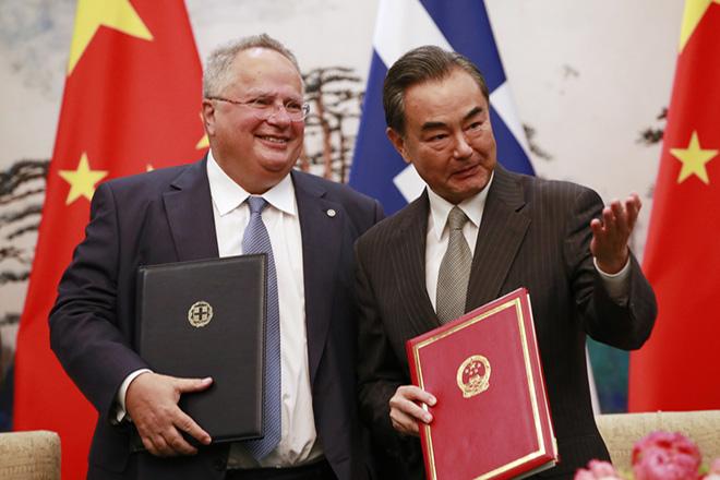 Μνημόνιο συνεργασίας Ελλάδας-Κίνας στο πλαίσιο του «Μία Ζώνη, Ένας Δρόμος»