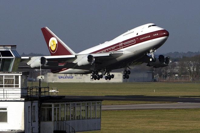 Jet 747-8I Jumbo qatar royal family