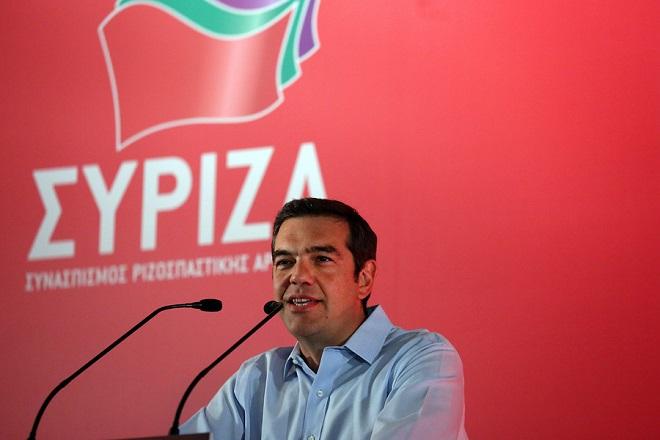 Ο πρωθυπουργός Αλέξης Τσίπρας μιλάει κατά τη διάρκεια της Συνεδρίασης της Κεντρικής Επιτροπής του ΣΥΡΙΖΑ, με θέμα: Ο ΣΥΡΙΖΑ στη νέα εποχή μετά τα μνημόνια, Δευτέρα 27 Αυγούστου 2018. ΑΠΕ-ΜΠΕ /ΑΠΕ-ΜΠΕ/ΟΡΕΣΤΗΣ ΠΑΝΑΓΙΩΤΟΥ
