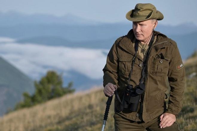 Όταν ο Βλαντιμίρ Πούτιν πηγαίνει…διακοπές (Φωτογραφίες)