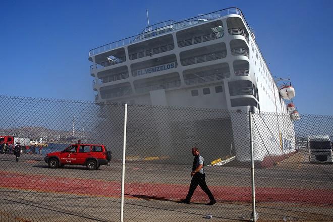 Έσβησε η φωτιά στο «Ελ. Βενιζέλος»