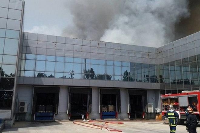 Κατασβέστηκε η πυρκαγιά στη μονάδα ανακύκλωσης μπαταριών, Sunlight Recycling