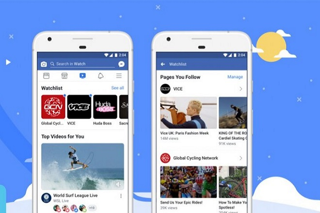 Το Facebook Watch πλέον διαθέσιμο σε όλο τον κόσμο