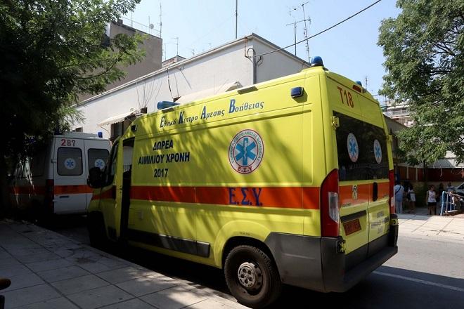 Ασθενοφόρα τους ΕΚΑΒ βρίσκοντια έξω από την 4η και 5η ΤΟΜΥ στη Χαριλάου στην οδό Πλαταιών 26, που εγκαινιάζονται σήμερα,  Θεσσαλονίκη, Δευτέρα 3 Σεπτεμβρίου 2018 ΑΠΕ ΜΠΕ/PIXEL/ΜΠΑΡΜΠΑΡΟΥΣΗΣ ΣΩΤΗΡΗΣ