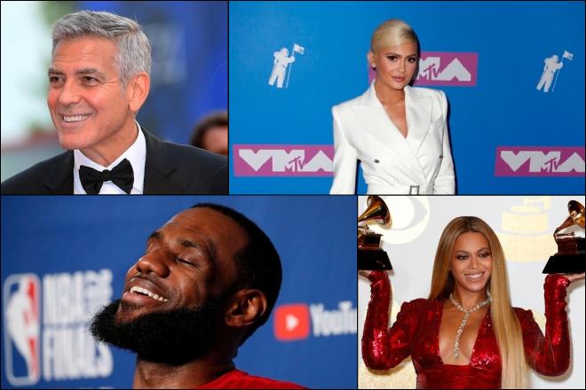 Οι διάσημοι που βγάζουν εξωφρενικά ποσά μόλις σε μια ώρα