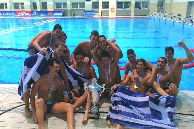 Στην «κορυφή» της Ευρώπης η Εθνική Νέων Ανδρών στην Υδατοσφαίριση