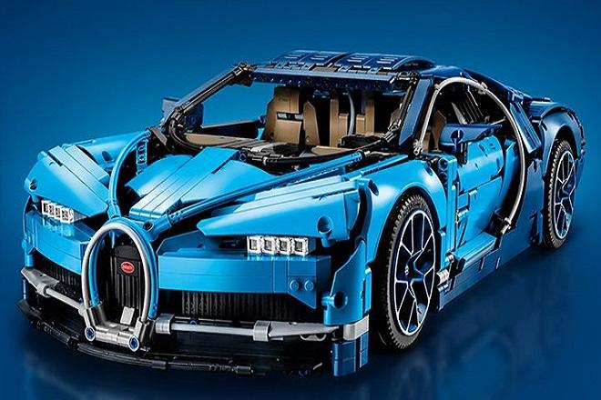 Τώρα μπορείτε να οδηγήσετε μια Bugatti Chiron από Lego