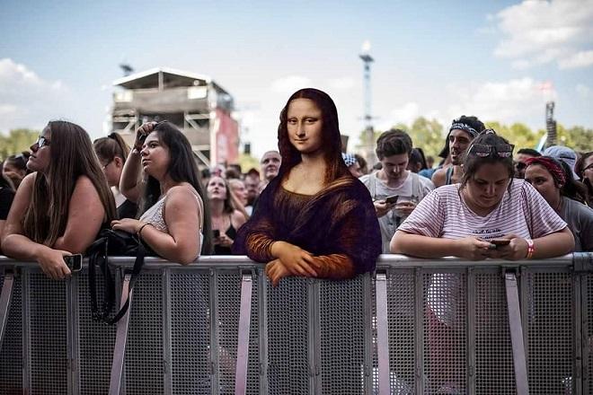 Πρόσωπα από κλασικά έργα ζωγραφικής πηγαίνουν σε…φεστιβάλ
