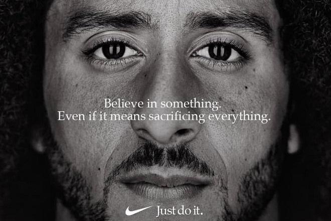 Η Nike ξεπούλησε χάρη στην αμφιλεγόμενη διαφήμιση με τον Κόλιν Κάπερνικ