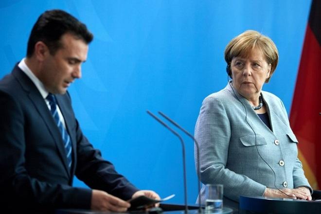 Μέρκελ: Η Συμφωνία των Πρεσπών προϋπόθεση για την ένταξη της ΠΓΔΜ σε ΝΑΤΟ και ΕΕ