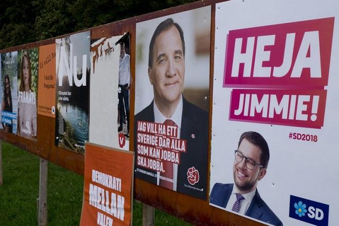 Σε πολιτική αβεβαιότητα η Σουηδία μετά την ενίσχυση της ακροδεξιάς