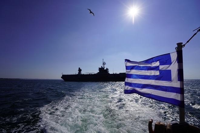 Στη Θεσσαλονίκη η επιβλητική ναυαρχίδα του 6ου αμερικανικού στόλου