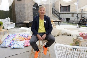 IKEA design chief Marcus Engman poses for a picture in Stockholm August 14, 2012. REUTERS/Henrik Montgomery/TT News Agency