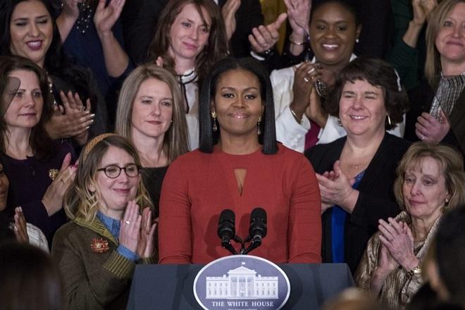 Ξεκινάει περιοδεία η Μισέλ Ομπάμα για την προώθηση του βιβλίου της