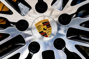 epa06777902 (FILE) - Porsche logo on a wheel of Porsche Cayenne SUV at the Dresden Porsche center, Germany, 28 July 2017 (re-issued 01 June 2018). German media 01 June 2018 report Porsche has temporarily stopped the sales of all new vehicles in Europe. Reports state Porsche sales stop comes as new technical measures need to be implemented for switching from old exhaust and pollution test methods to new Worldwide Harmonised Light Vehicle Test Procedure (WLTP) and Real Driving Emissions (RDE) testing methods. The new testing methods will be gradually introduced starting September 2018.  EPA/FILIP SINGER