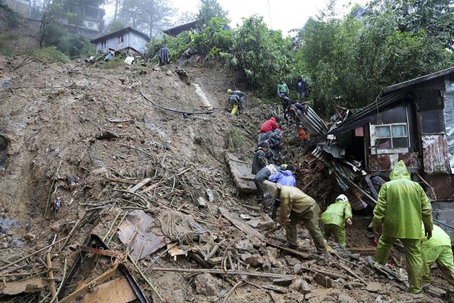 Στους 59 οι νεκροί από το πέρασμα του υπερτυφώνα Μανγκούτ στις Φιλιππίνες