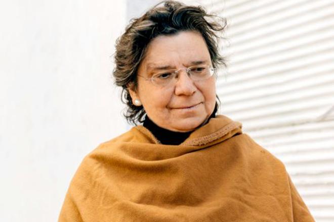 H Μαρία Ευθυμίου στη σκηνή του Disrupt Greece: «Είναι σχεδόν υπεράνθρωπος ο καλός επιχειρηματίας»
