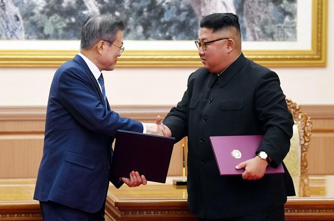 Βόρεια και Νότια Κορέα συμφώνησαν σε αποπυρηνικοποίηση της χερσονήσου