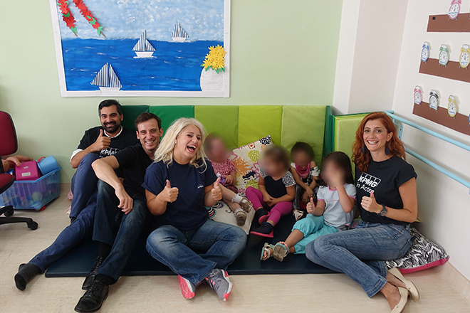 H KPMG προσφέρει στα γενναία παιδιά της ΕΛΕΠΑΠ νέα σχολικά είδη