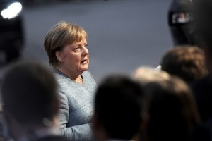 epa07032748 German Chancellor Angela Merkel arrives for a dinner at the Felsenreitschule theatre, during the European Union's (EU) Informal Heads of State Summit in Salzburg, Austria, 19 September 2018. EU countries' leaders meet on 19 and 20 September for a summit to discuss internal security measures, migration and Brexit.  EPA/CHRISTIAN BRUNA