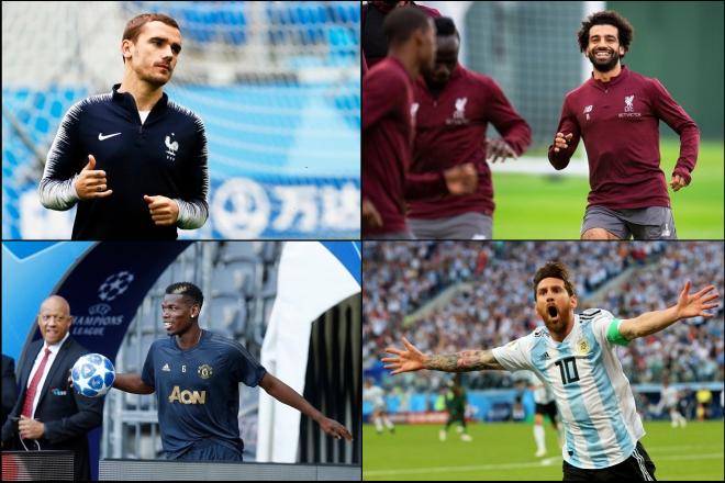 Αυτοί είναι οι δέκα πολυτιμότεροι ποδοσφαιριστές του κόσμου σήμερα