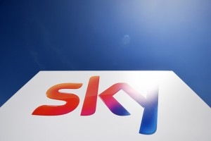 epa07039930 (FILE) - A logo at Sky Broadcasting headquarters in Osterley, west London, Britain, 06 August 2018 (reissued 22 September 2018). According to reports, US broadcaster Comcast won an auction against 21st Century Fox to take over Sky, a deal that is considered to be worth some 30 billion British pounds (approx 39 billion USD).  EPA/ANDY RAIN *** Local Caption *** 54533805