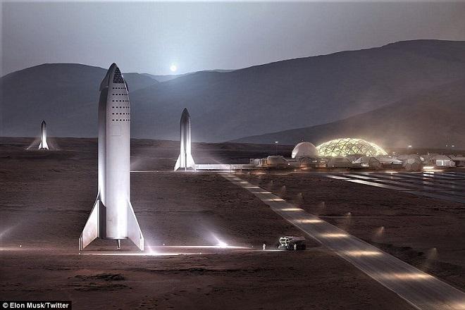 Αυτή είναι η διαστημική βάση που οραματίζεται ο Έλον Μασκ στον Άρη