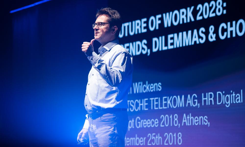 Ο Martin Wilckens στο Disrupt Greece: Οδηγεί τη Deutsche Telekom στην ψηφιακή εποχή και μας ταξιδεύει στο 2028