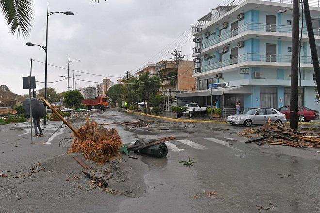 Συνεχίζονται οι έρευνες για τους αγνοούμενους του κυκλώνα «Ζορμπά»