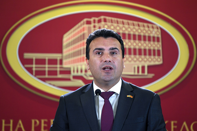 FAZ: Οι μυστικές συναντήσεις Σπυράκη – Ζάεφ και το μήνυμα στην ΠΓΔΜ να «βιαστεί να κλείσει η συμφωνία»