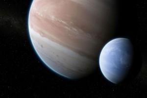 Εξωπλανήτης+Kepler-1625b+και+εξωδορυφόρος++(καλλιτεχνική+απεικόνιση)+Πηγή+Dan+Durda