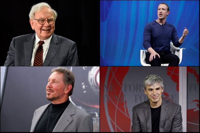Οι δέκα πλουσιότεροι Αμερικανοί και η αλλαγή σκυτάλης στην πρώτη θέση