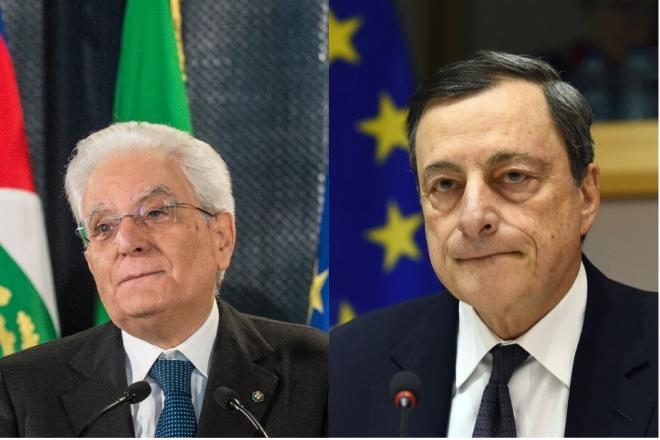 Συνάντηση Ντράγκι-Ματαρέλα για προϋπολογισμό και αγορά