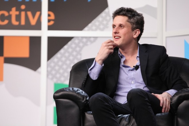 speaks onstage at Box's Aaron Levie Talks With FORTUNE's Jessi Hempel during the 2014 SXSW Music, Film + Interactive Festival at Austin Convention Center on March 10, 2014 in Austin, Texas.