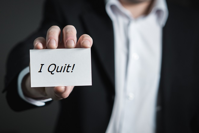 quit job business
