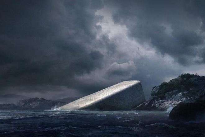 Το νέο εντυπωσιακό υποβρύχιο εστιατόριο της Νορβηγίας