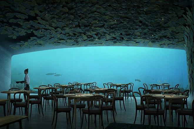 Ανοίγει τον Απρίλιο το πρώτο υποθαλάσσιο εστιατόριο στην Ευρώπη